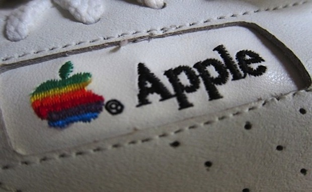 Early 90's employee-issued Apple sneakers